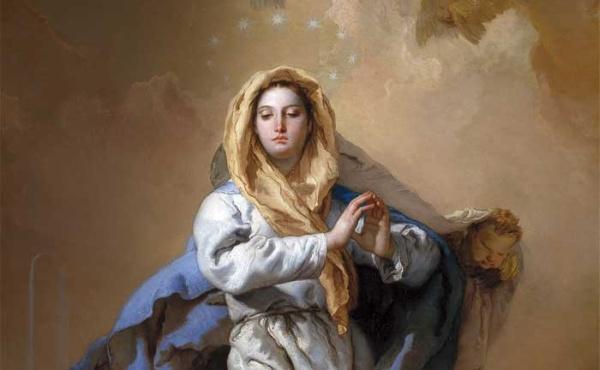 Резултат с изображение за зачатие на Дева Мария.